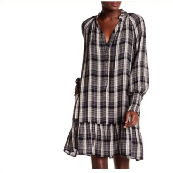 Free People Dresses & Skirts - NWT-FREE PEOPLE dress perfect w/boots/booties!!
